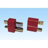 Разъем T-plug (male+female) без провода