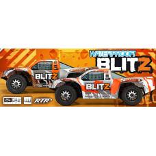 Ралли-кросс 1/10 2WD - RTR BLITZ (радио 2.4GHz / кузов SKORPION / влагозащита) без АКК. и З/У