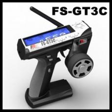 Комплект пульт и ресивер цифровые FlySky GT3C 2.4Ghz 3ch