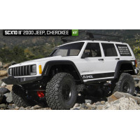 SCX10 II™ 2000 Jeep® Cherokee 1/10th Scale Electric 4WD – Kit