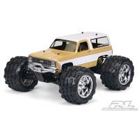 1980 Chevy Blazer Clear Body