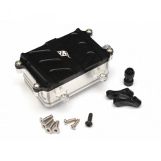 Axial SCX10 Aluminum Receiver Box - 1 Pc Black