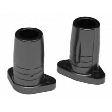 Gmade Sawback Aluminum Rear Axle Lock-out - 1 Pair Black
