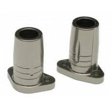 Gmade Sawback Aluminum Rear Axle Lock-out - 1 Pair Gun Metal