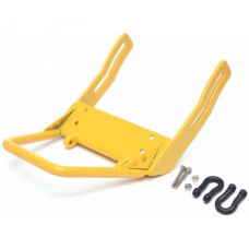 Axial SCX10 Steel Front Bumper B With Towing Hooks - 1 Set Yellow