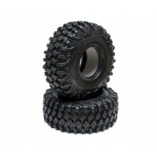 Boom Racing HUSTLER M/T Xtreme 1.9 MC2 Rock Crawling Tires 4.75x1.75 SNAIL SLIME™ Compound W/ 4-Stage Foams (Super Soft) Recon G6 Certified