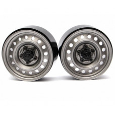 1.9 Badass Classic 16-Hole Steelie & CNC Aluminum Beadlock Wheels W/ Center Hubs (Передний)