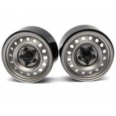 1.9 Badass Classic 16-Hole Steelie & CNC Aluminum Beadlock Wheels W/ Center Hubs (Задний)