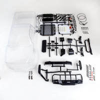 Gmade Komodo Clear Lexan Body Set for 11.3 inch Wheelbase 1/10