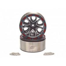 EVO™ 1.9 High Mass 6 Spoke Beadlock Aluminum Wheels x4