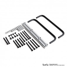 Силовые пороги Side Bars (2) for Gmade GS01 Chassis