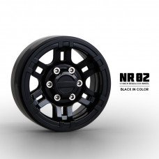 1.9 NR02 beadlock wheels (Black) x4