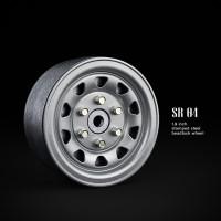 1.9 SR04 beadlock wheels (Серебристый) (4 шт)