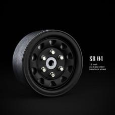1.9 SR04 beadlock wheels (Черный) (4 шт)