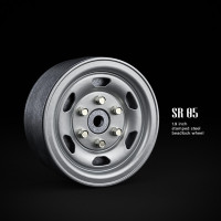 1.9 SR05 beadlock wheels (серебристый) (4 шт)