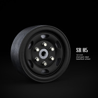 1.9 SR05 beadlock wheels (матовый чёрный) (4 шт)
