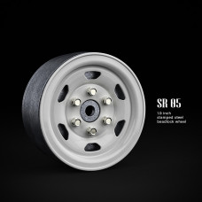 1.9 SR05 beadlock wheels (белый) (4 шт)
