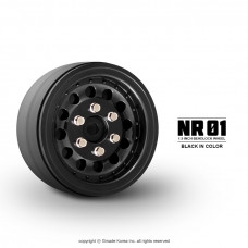 1.9 NR01 beadlock wheels (Black)x 4