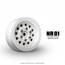 1.9 NR01 beadlock wheels (White) x 4