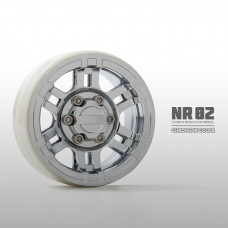 1.9 NR02 beadlock wheels (Хром) x4
