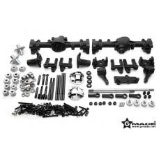 Gmade R1 Front and Rear Portal Axle Set (передний и задний портальные мосты)