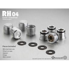 1.9 RH04 wheel hubs (Silver) (4)