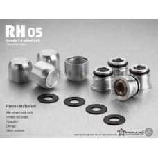 1.9 RH05 wheel hubs (Silver) (4)