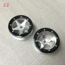 2.2 алюминиевые диски с бедлоками х4