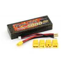 Аккумулятор Li-Po - 7.4В 5000мАч 40C Серия Hobby (2S, Универсальный разъем