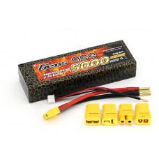 Аккумулятор Li-Po - 7.4В 5000мАч 40C Серия Hobby (2S, Универсальный разъем)