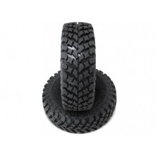 Pit Bull RC Growler AT/ Extra 1.9 inch RC Crawler Scale Tires w/ Stage Foam 4pcs Fit For AXIAL Wheels [Recon G6 The Fix Certified]
