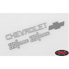 CHEVROLET BLAZER METAL EMBLEM SET