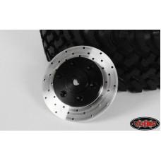 1.5/1.7 6 Lug Steel Wheel Hex Hub with Brake Rotor