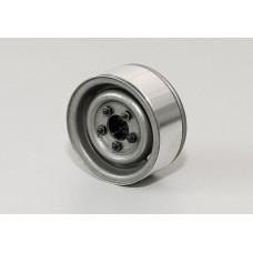 1.55 Landies Vintage Stamped Steel Beadlock Wheels (Raw)*4