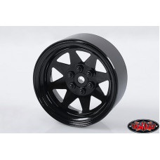 6 LUG WAGON 2.2 STEEL STAMPED BEADLOCK WHEELS (черный) х4