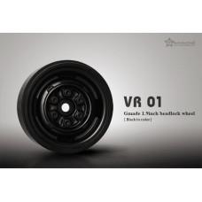 1.9 VR01 beadlock wheels (Black) x 4
