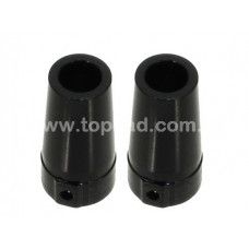 Alloy Rear Axle Lock-out (2) for Axial Wraith / bk