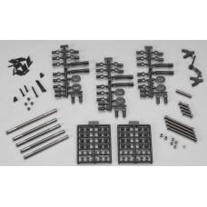 "Axial Aluminum Wheelbase Links Set 11.4"" (290mm) SCX10"