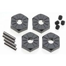 Axial Aluminum Hub Narrow 12mm Black (4)